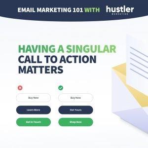 Single CTA email marketing