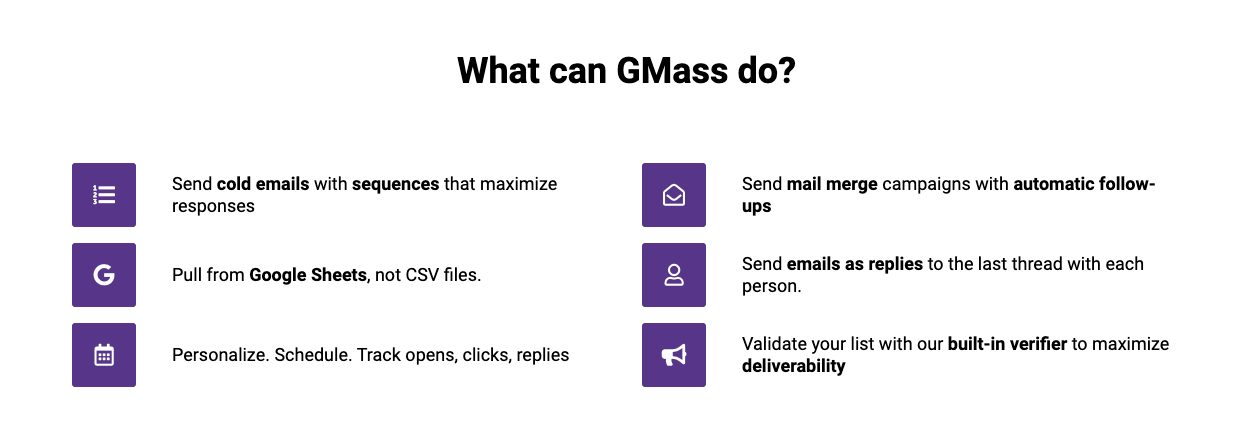 Email Marketing Tools: Gmass