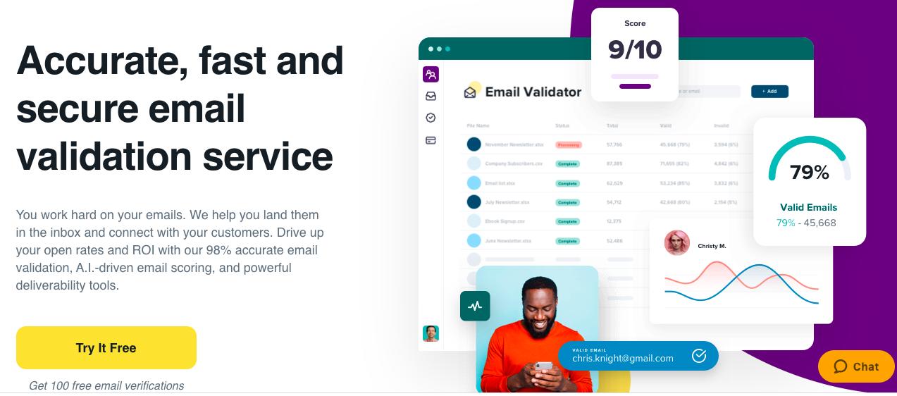 Email Marketing Tools: zerobounce
