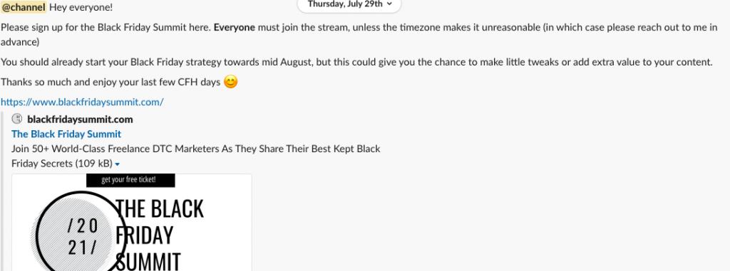 how teams use Slack