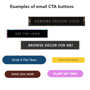 examples of email CTAs