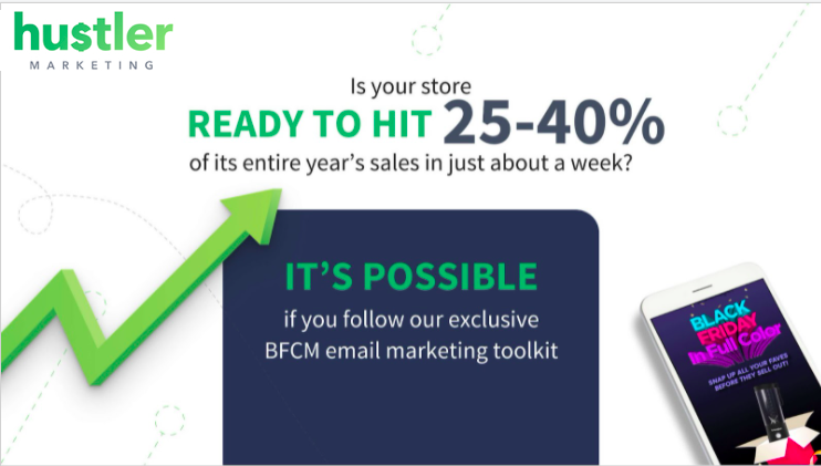 Black Friday Cyber Monday Ecommerce Email Marketing Toolkit